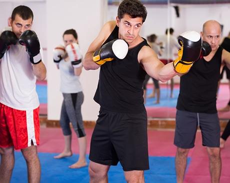 Cours de boxe en entreprise